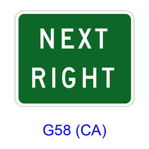 NEXT RIGHT G58(CA)