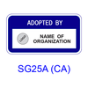 Call Box Adoption [plaque] SG25A(CA)