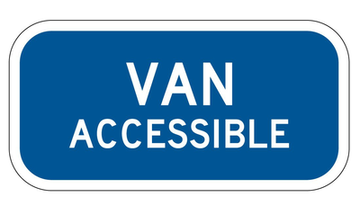 VAN ACCESSIBLE 12X6 EG