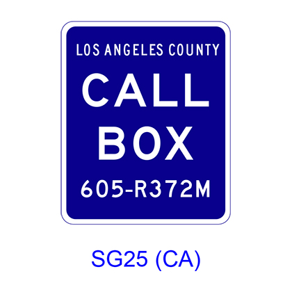 Call Box SG25(CA)