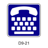 Telecommunication Devices For The Deaf [symbol] D9-21
