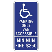 HANDICAP $250 VAN ACCESS 12X24