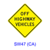 OFF HIGHWAY VEHICLES SW47(CA)