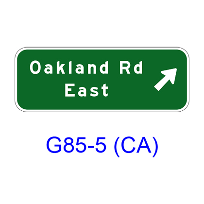 Exit Direction G85-5(CA)