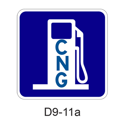 Alternative Fuel-Compressed Natural Gas [symbol] D9-11a