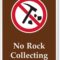 NO ROCK COLLECTING