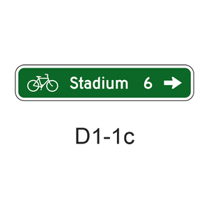 Bicycle Destination [symbol]