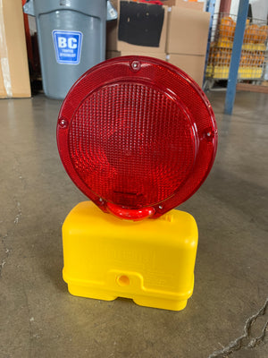 6 VOLT BARRICADE LIGHT (RED)
