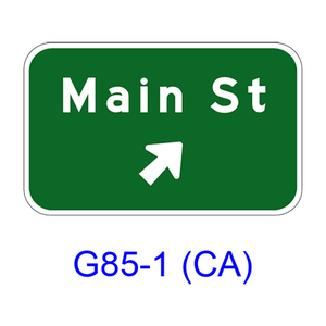 Exit Direction G85-1(CA)