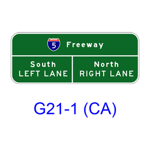 Advance Lane Assignment G20-3(CA)