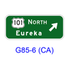 Exit Direction G85-6(CA)