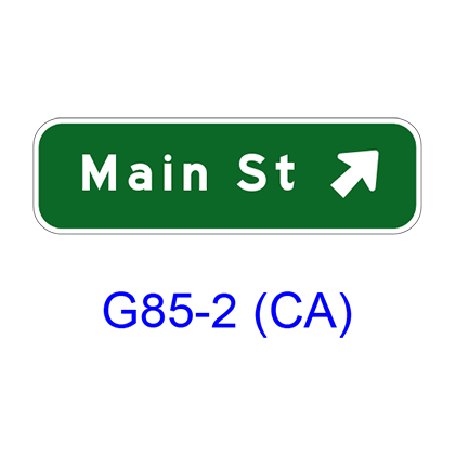 Exit Direction G85-2(CA)