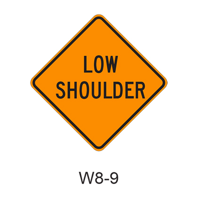 LOW SHOULDER W8-9