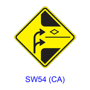 HOV Lane Selection SW54(CA)