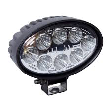 12/24V OVAL LED WRK LIGHT, 8-3