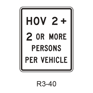 Vehicle Occupancy Definition R3-40