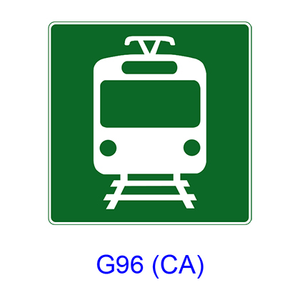 Light Rail Station [symbol] G96(CA)