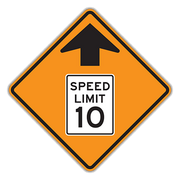 SPEED LIMIT BLANK 18X24 EG