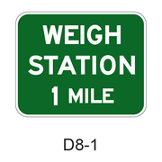 WEIGHT STATION XX MILE D8-1