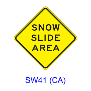 SNOW SLIDE AREA SW41(CA)