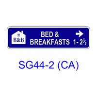 Tourist Oriented Directional [symbol] SG44-2(CA)