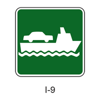 Vehicle Ferry Terminal [symbol] I-9