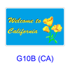 Welcome To California G10B(CA)