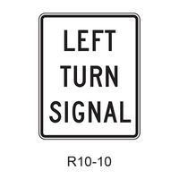 RIGHT (LEFT) TURN SIGNAL R10-10