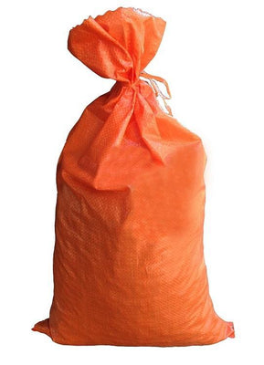 MONOFILAMENT BAG ORANGE EMPTY