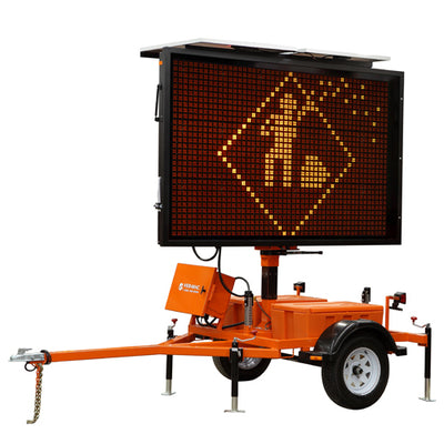 VERMAC PCMS-320 Trailer Mounted MESSAGE BOARD