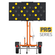 VER-MAC ARROW BOARD TRAILER ST-4825