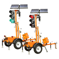 VER-MAC Traffic Signals Trailer Mounted TLD-2312