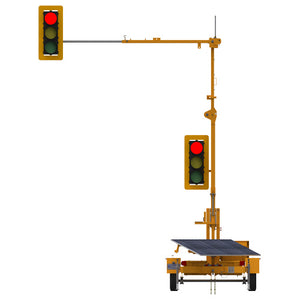 VER-MAC Traffic Signals Trailer Mounted TLD-3612G3