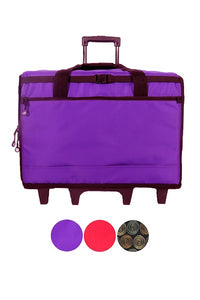 "23"" Wheeled Sewing Machine Carrier, TB23 - Purple"