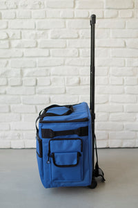 "19"" Wheeled Sewing Machine Carrier, TB19 - Cobalt Blue"
