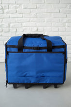 "Load image into Gallery viewer, NEW 23"" Wheeled Sewing Machine Carrier, TB23 - Cobalt Blue"