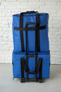 "NEW 23"" Wheeled Sewing Machine Carrier, TB23 - Cobalt Blue"