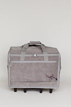 "Load image into Gallery viewer, Designer Series 23"" Wheeled Sewing Machine Carrier, DS23 - Blossom"