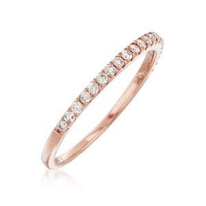 1/4 Carat TW 2mm Diamond Band