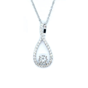 Infinity Diamond Pendant - Johnny Jewelry