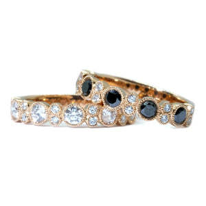 Bubble Diamond Ring - Johnny Jewelry