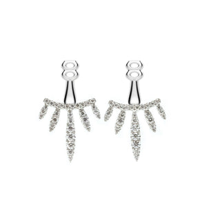 Sunray Diamond Earrings Enhancer - Johnny Jewelry