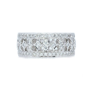 Crown Diamond Anniversary Band