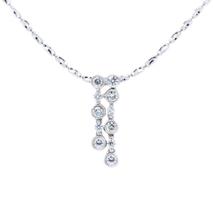Starlette Diamond Bubble Necklace