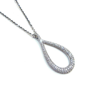 Diamond Drop Pendant - Johnny Jewelry