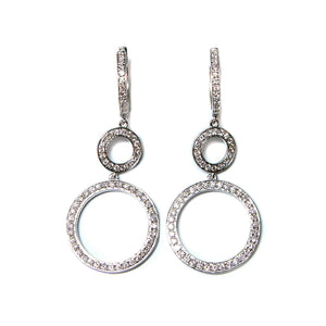 Double Loop Earrings - Johnny Jewelry