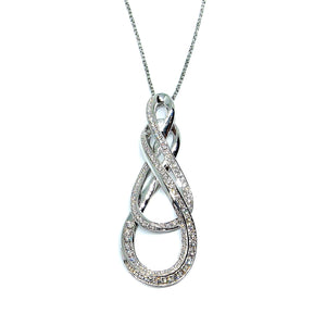 Eternity Diamond Pendant - Johnny Jewelry