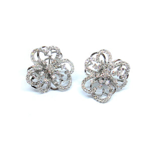 Firework Diamond Earrings - Johnny Jewelry
