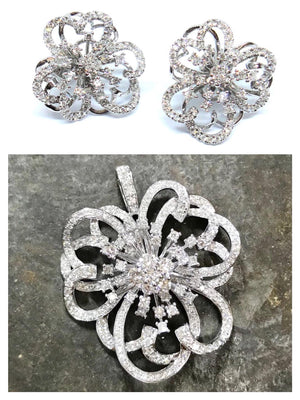 Diamond Fireworks Set - Johnny Jewelry