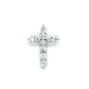 Classic Diamond Cross - Johnny Jewelry